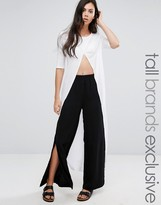 ADPT Tall Adpt Tall Side Split Wide Leg Pant