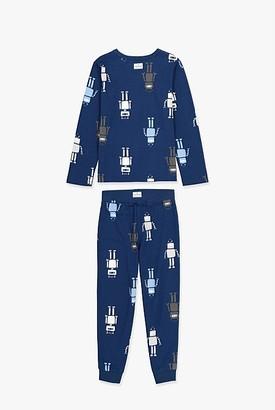 Country Road Robot Pyjama Set
