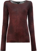 Avant Toi washed effect jumper - women - Silk/Cashmere - S