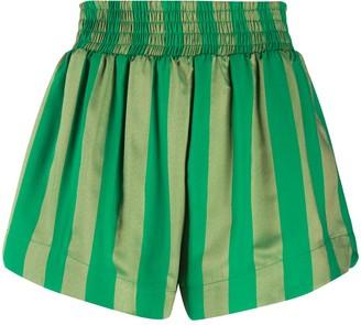 Roseanna High-Waisted Striped Shorts