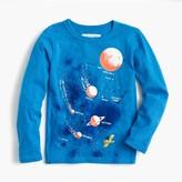 J.Crew Boys' long-sleeve glow-in-the-dark planet T-shirt