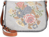 Patricia Nash Cross Stitch Positano Square Saddle Bag