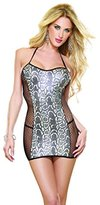 Dreamgirl Venom Vixen Dress And G-String; 2 Pc Set, Size-, Color-