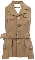 Maison Margiela military style waistcoat jacket