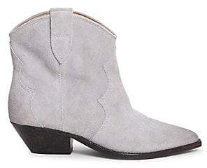 Isabel Marant Women's Dewina Western Suede Ankle Boots