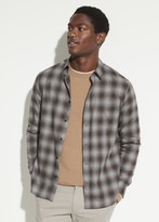Plaid Cotton Twill Long Sleeve