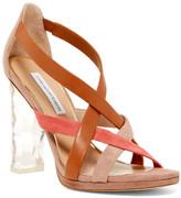 Diane von Furstenberg Ibiza Crystal Heel Sandal
