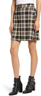 Vero Moda Fidela Plaid Skirt