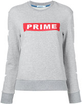 GUILD PRIME logo print sweatshirt - women - Cotton - 34