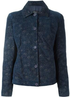 Romeo Gigli Pre-Owned glitter jacket