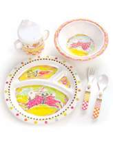 Mackenzie Childs MacKenzie-Childs Toddlers' Bunny Dinnerware Set