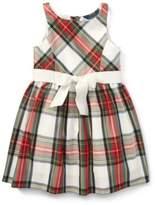 Ralph Lauren Tartan Taffeta Dress Regal Tartan 3T