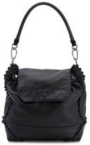 Liebeskind Berlin Sakaif7 Convertible Leather Knots Backpack.
