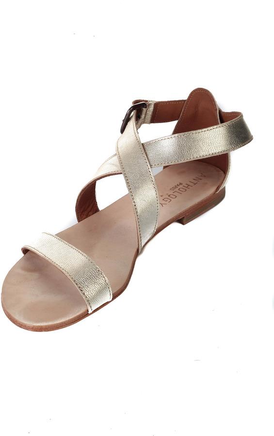 Anthology Golden Sandals
