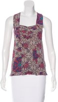 Alexandre Herchcovitch Silk Printed Top