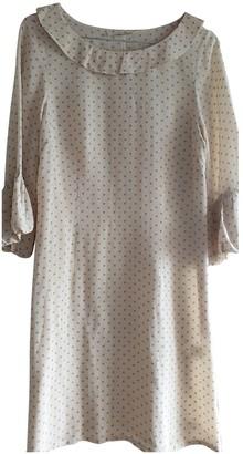 Bel Air Beige Silk Dress for Women