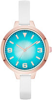 JCPenney FASHION WATCHES Womens Dgrad Dial Watch
