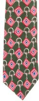 Gucci Diamond Print Silk Tie