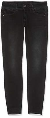 G Star Women's Lynn Mid-Waist Skinny Jeans, (Dusty Grey B472-a799), 25W / 32L