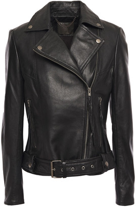 Muu Baa Muubaa Alchemilla Belted Leather Biker Jacket