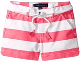 Tommy Hilfiger Rugby Stripe Shorts with Belt Girl's Shorts