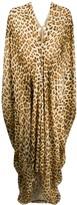 Roberto Cavalli leopard-print dress