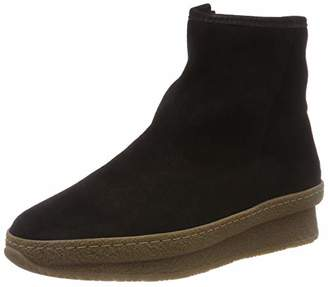 Pavement Women's Nora Wool Ankle Boots, (Black Suede 017)