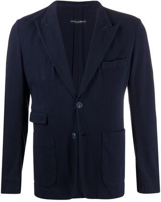 Dolce & Gabbana Cotton Blazer Jacket