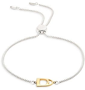Ralph Lauren Ralph Stirrup Slider Bracelet in Two Tone Sterling Silver