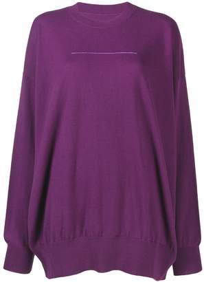 MM6 MAISON MARGIELA fine knit sweater