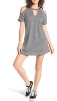 Dee Elly Women's Choker T-Shirt Dress