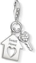 Thomas Sabo Charm club silver and zirconia sweet home charm