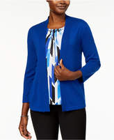 Alfred Dunner High Roller Layered-Look Sweater