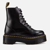 Dr. Martens Women's Jadon Polished Smooth Leather 8-Eye Boots - Black