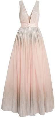 Jenny Packham Pleated Gown