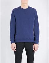 Kenzo Logo-back Cotton-jersey Sweatshirt