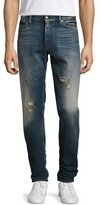 Ralph Lauren Slim Tapered Denim Jeans, Washed Blue