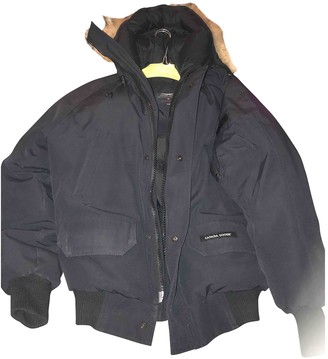 Canada Goose Chilliwack Blue Polyester Coats