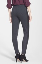 Vince Camuto Two by Faux Leather Trim Leggings (Petite)