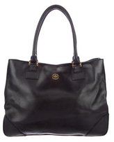 Tory Burch Large Robinson Zip-Top Tote