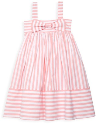 Isabel Garreton Little Girl's Striped Bow Dress