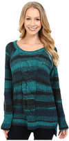 Calvin Klein Jeans Ombre Cable Crew Neck Sweater
