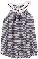 E-Land Kids Fashion Top (Toddler/Kid) - Navy-6x