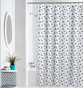 Your Zone Ants Microfiber Shower Curtain, Paris Pink Ants