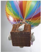 Royal Aero Balloon Ornament in Rainbow