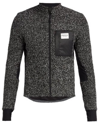 Café Du Cycliste Funnel-neck Fleece Cycling Jacket - Grey