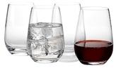 Villeroy & Boch Voice Basic Stemless Wine Glasses (Set of 4)