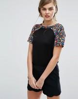 Oasis Daisy Print T-Shirt