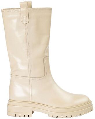 Tony Bianco Wes Vanilla Capretto Calf Boot
