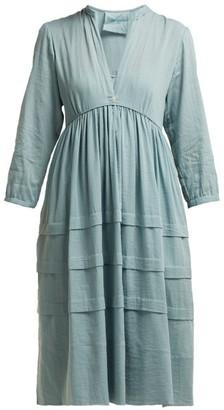 Loup Charmant Nova Organic Cotton Sun Dress - Womens - Light Green